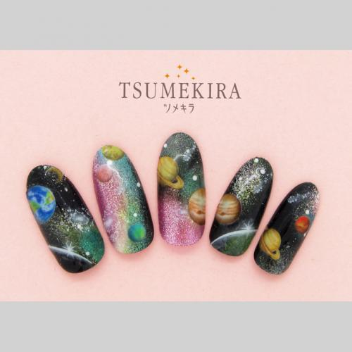 Tsumekira Colorful Galaxy NM-GLX-101