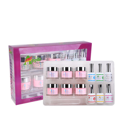 Apple Gel - Pink and White Advanced Master Dipping Powder Set