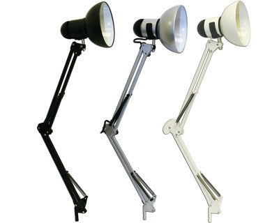 Desk Lamps  Black/Silver/White