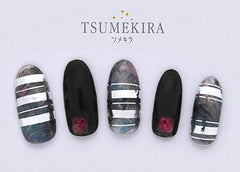 Tsumekira Line Silver SG-LIN-101 (For Gel)