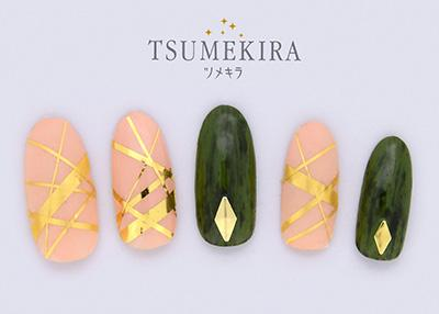 Tsumekira Line Gold SG-LIN-102 (For Gel)