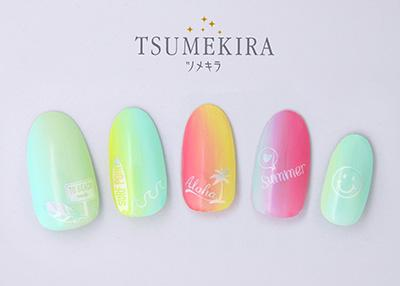 Tsumekira Summer Icon White NN-SMI-101