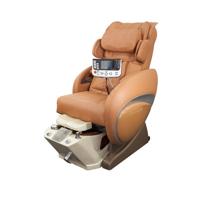 Fiori 8000 Pedicure Spa with Diamond Bowl - Chestnut