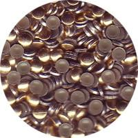 NLS Metal Studs Flat Gold 2mm (500pcs)