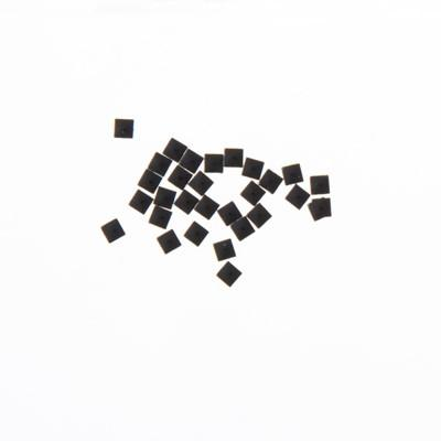 NLS Metal Studs Flat Pyramid Black (2mm) 30pcs