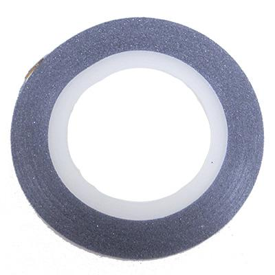 Glitter Line Tape 1mm SILVER [NEW]