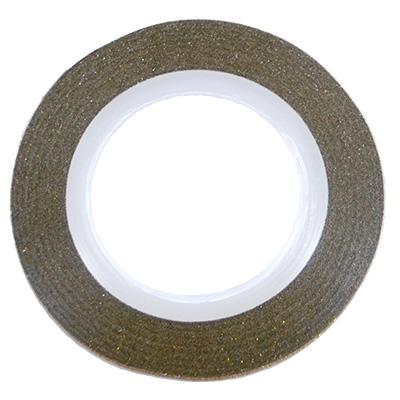 Glitter Line Tape 2mm GOLD [NEW]