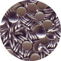 NLS Metal Studs Flat Silver (3mm) 500pcs