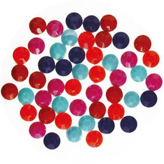 NLS Color Stones Vivid Assorted (3mm) 100pcs