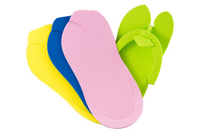 Slipper 8A - fold up with smooth sole