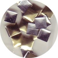 NLS Metal Studs Flat Pyramid Gold 4mm (30pcs) [While Supplies Last]