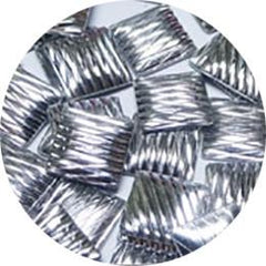 NLS Metal Studs Square Mesh Silver (4mm) 10pcs [While Supplies Last]