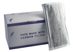 Face Masks Carbon Filter 50 Pieces