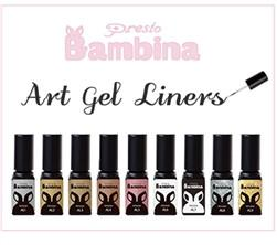 Presto Bambina Art Gel Liner Set [Bottle] - All 9 Colors [Bottle] Limited Discontinued