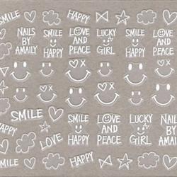 Amaily Nail Sticker #3-4
