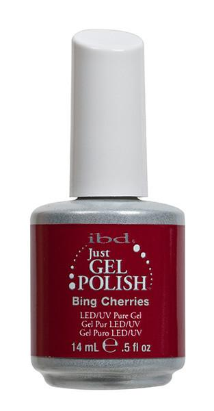 IBD Just Gel Polish Bing Cherries .5oz [While Supplies Last]