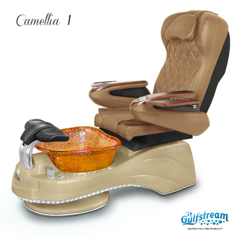 CAMELLIA 1 Pedicure Spa Chair Gulfstream
