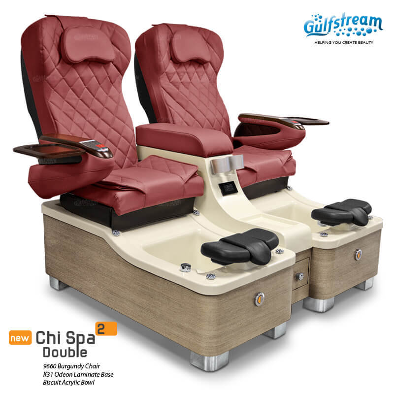 CHI SPA 2 DOUBLE Pedicure Spa Chair Gulfstream