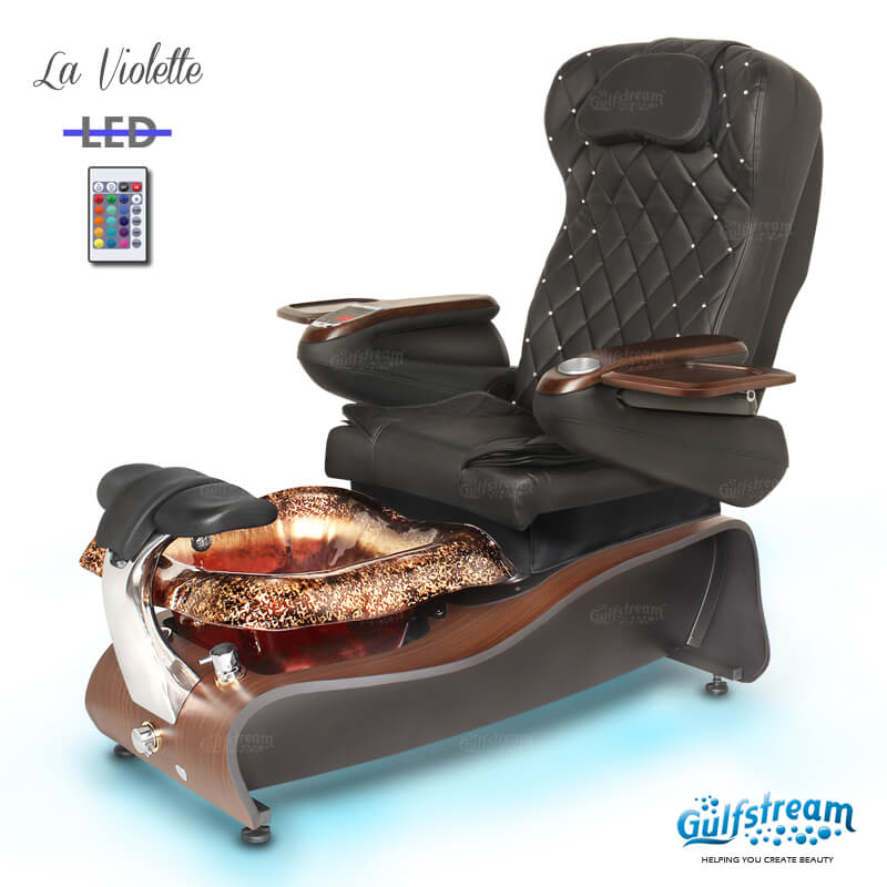 LA VIOLETTE Pedicure Spa Chair Gulfstream