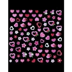 Joby Nail Art Sticker 3D Collection NA03-15 Hearts [While Supplies Last]