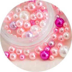 Nail Labo Ball Pearl Assorted Pink