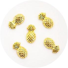 Nail Labo Metal Pineapple Gold