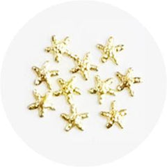 Nail Labo Metal Sea Star 3mm Gold
