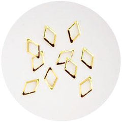 Nail Labo Metal Frame Diamond Gold