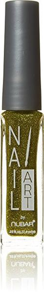 Nubar Nail Art Striper A102 Lime Green Glitter