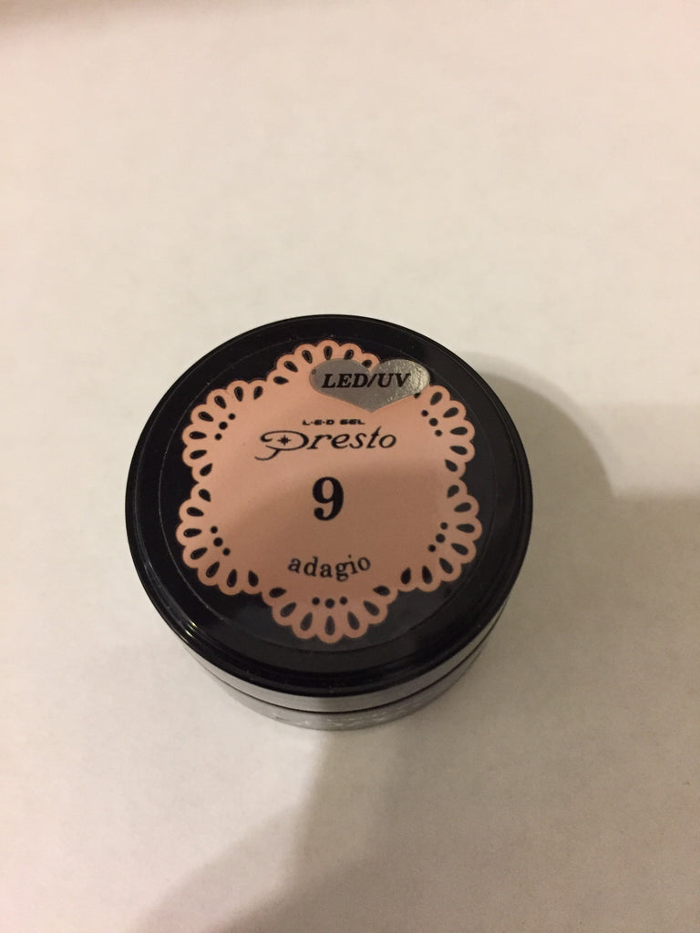 Presto Color Gel 0.14oz #9 Adagio [Jar]