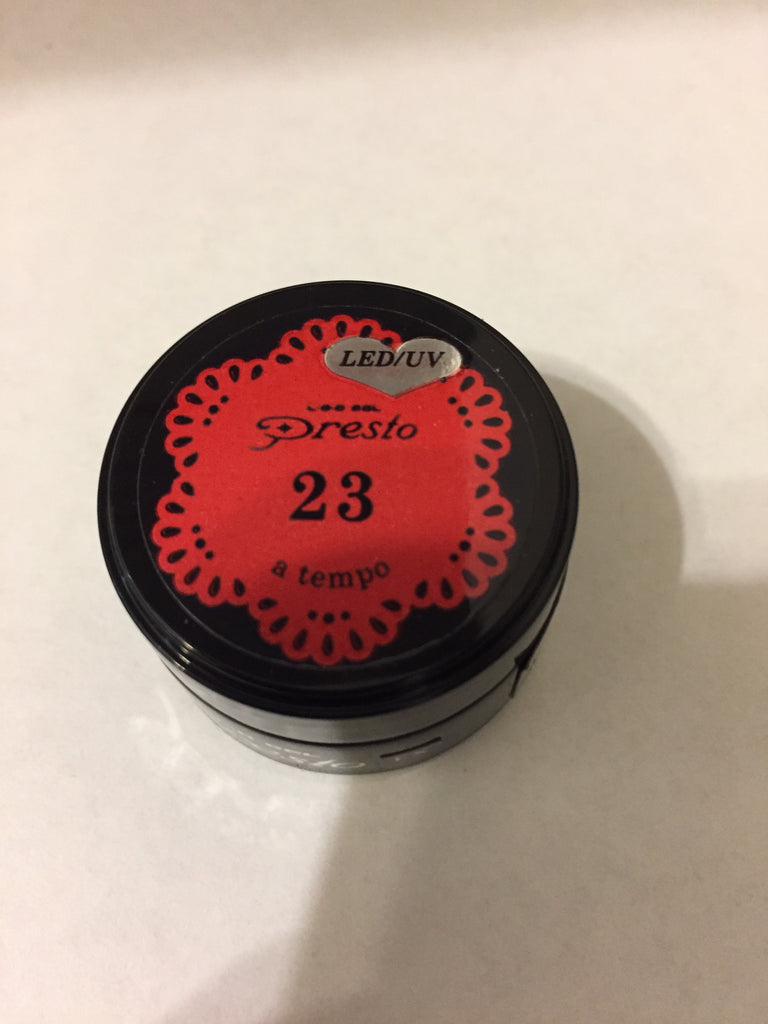 Presto Color Gel 0.14oz #23 A Tempo [Jar]