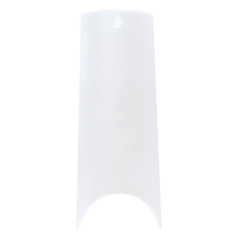 Nail Labo Half Nail Tips Clear #3 (50p) [While Supplies Last]