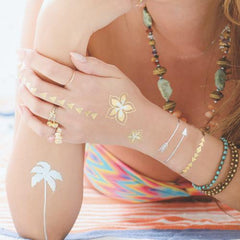 LUXEY TATTOOS BEACH02 LX-BCH-02