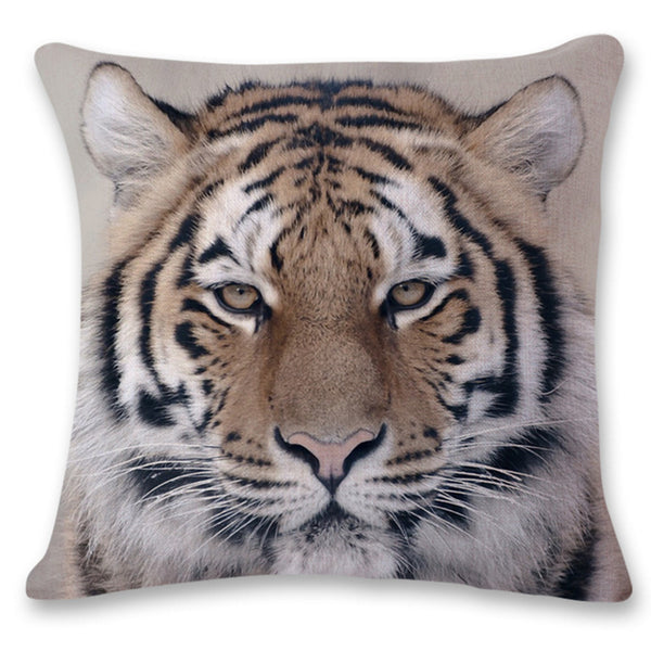 Big Cats Decorative Pillow Case