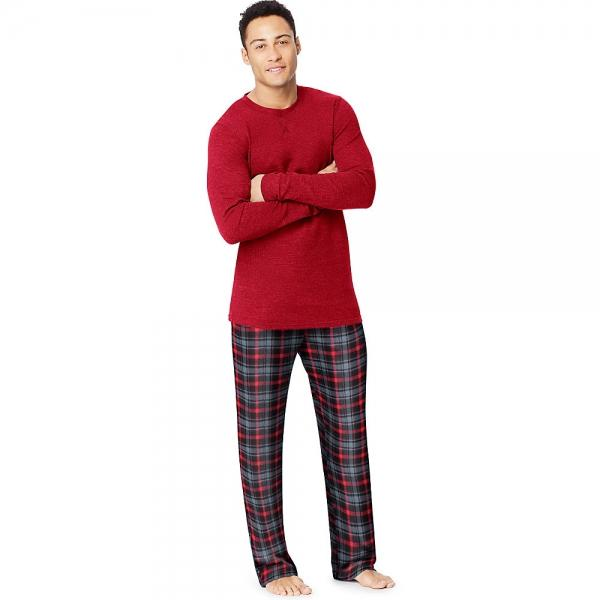 Hanes X-Temp™ Men's Microfleece Sleep Set - New Style