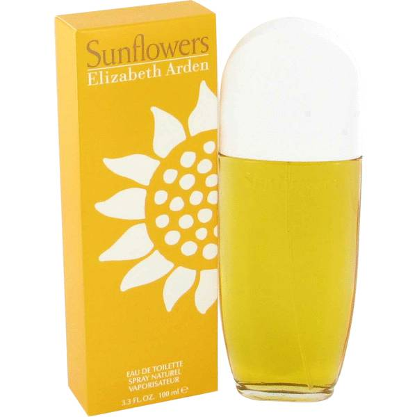 FRAGRANCE Sunflowers Perfume 3.3 oz Eau De Toilette Spray
