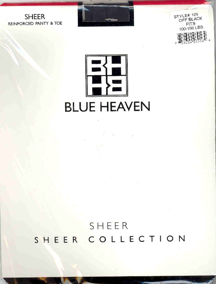 Blue Heaven Pantyhose 100-160 Lb ~12