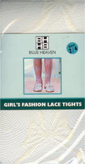 Blue Heaven Lace Sheer Tight 6 Pack