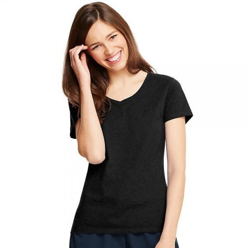 Hanes Women's X-Temp? V-Neck T-Shirt