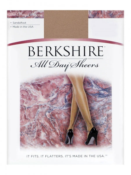 BERKSHIRE ALL DAY SHEER PANTYHOSE NC - SF 20