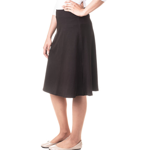 Kiki Riki Womens Cotton A-Line Skirt