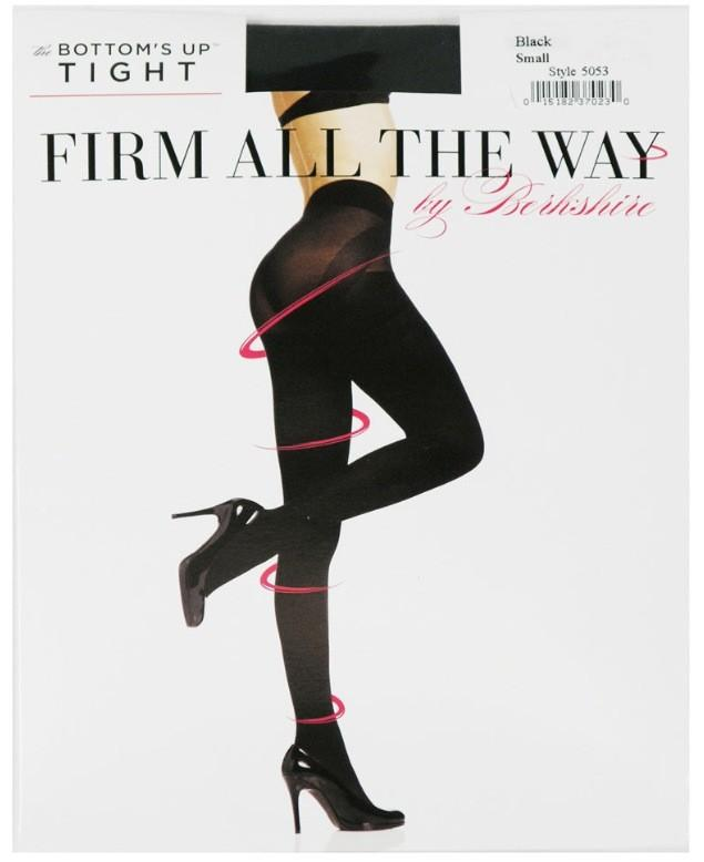 Berkshire Firm All The Way Bottom's Up Tights, Black, 60 ~2