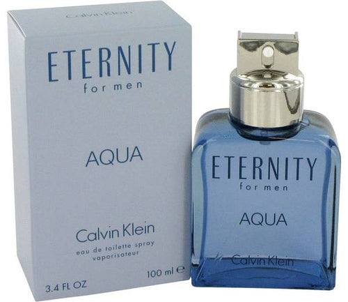 FRAGRANCE Eternity Aqua Cologne 3.4 oz Eau De Toilette Spray
