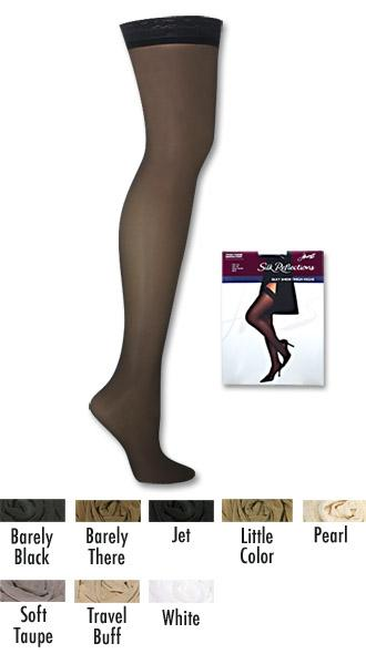 Hanes Silk Reflections Thigh-High 15 ~3