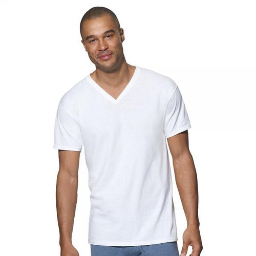 Hanes Ultimate™ ComfortSoft® TAGLESS® Men's V-Neck Undershirt 3-Pack