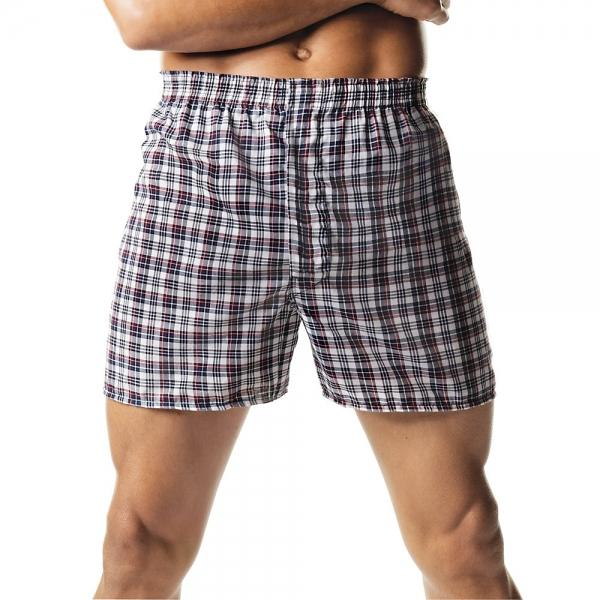 Hanes Men's Tartan Boxers with Comfort Flex® Waistband 2-Pack