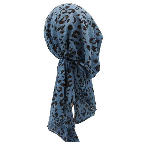 SGA Leopard Print None Tied Square