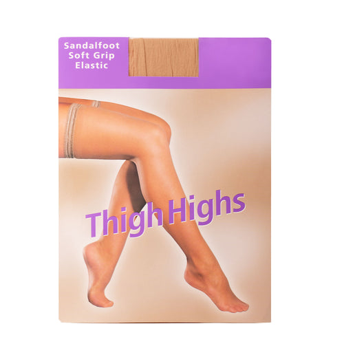 A-Z Sheer Stretch Thigh-High ~ 12