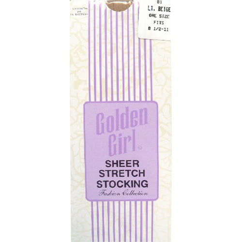 A-Z Golden Girl Sheer Stretch Stocking's One Size ~ 12