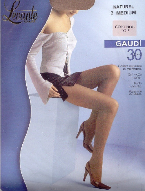 Levante 30 Gaudi Opaque Control Top  Tights
